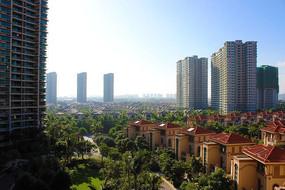 海南清水湾别墅公寓建筑群