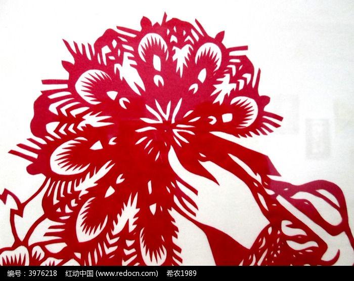 剪纸花卉高清图片下载 红动网