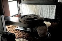 安昌古镇的茶室内景