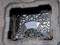 常家大院的花格窗