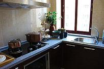厨房经典装修风格图