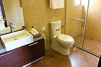 简约赖脏的卫浴间装修图