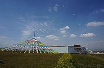 蒙古草原风光