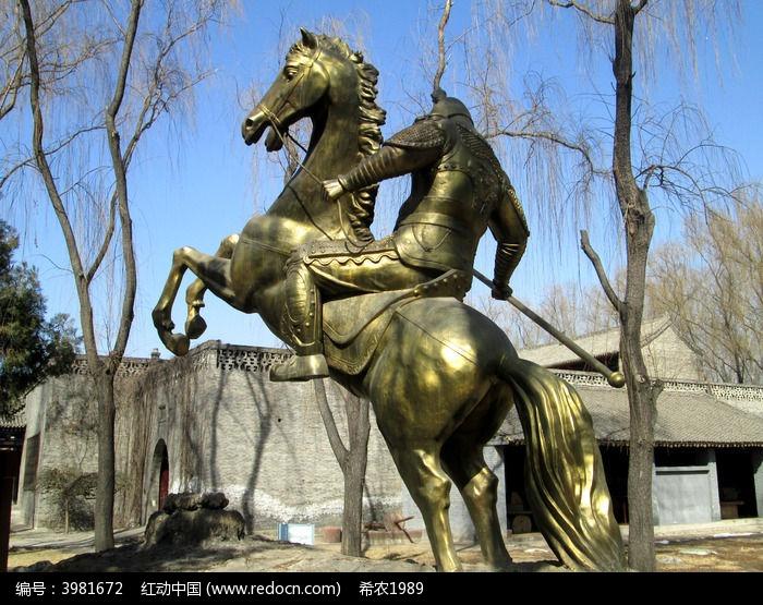 百位将军灵铜像 将军铜像大图 蔡廷锴将军铜像