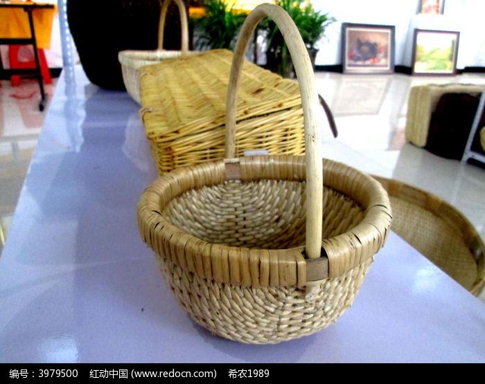竹篮编织步骤图解