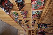 瑶族卖装饰木房子