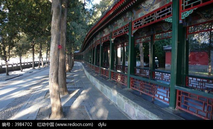 颐和园 长廊图片