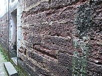 东阳诸葛八卦村的石墙