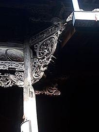 东阳诸葛八卦村建筑木结构