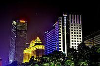 广州珠江新城夜景