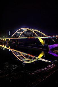 沱江三桥夜景