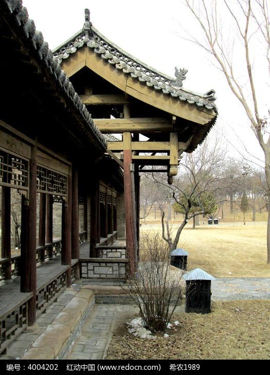 常家庄园木结构古建筑