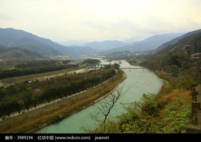 都江堰图片,高清大图_江河湖泊素材