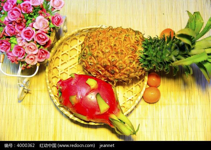 火龙果菠萝图片,高清大图_水果蔬菜素材