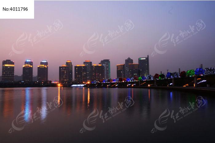 如意湖图片,高清大图_城市风光素材