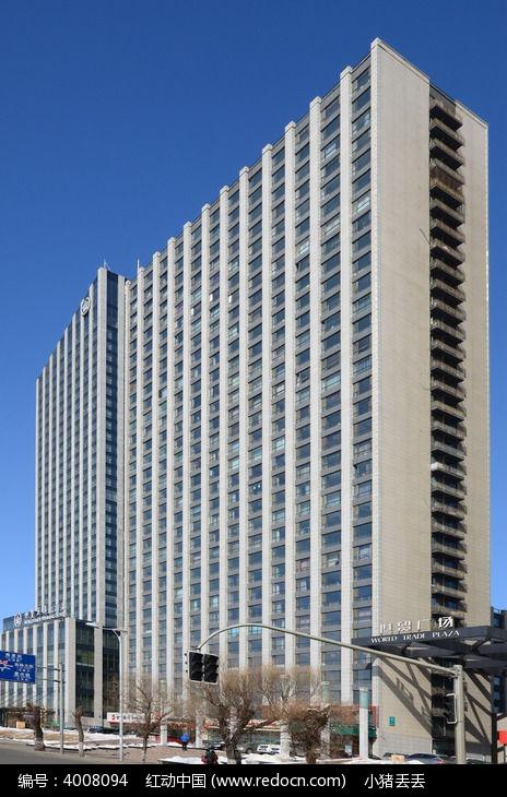 世贸万锦大酒店 侧拍图片 , 高清 大图 高楼大厦 素