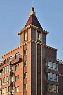 象园小区欧式塔楼图片