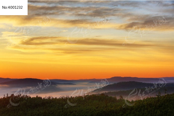 云海朝阳图片,高清大图_森林树林素材