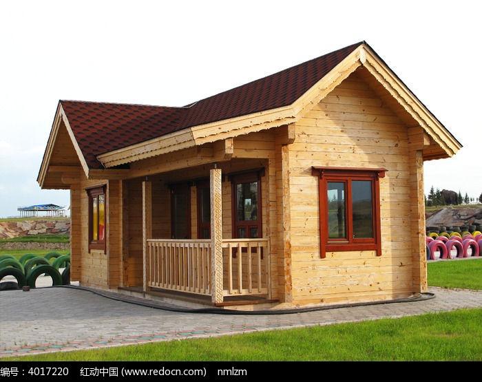 原创摄影图 建筑摄影 园林景观 俄式木屋图片