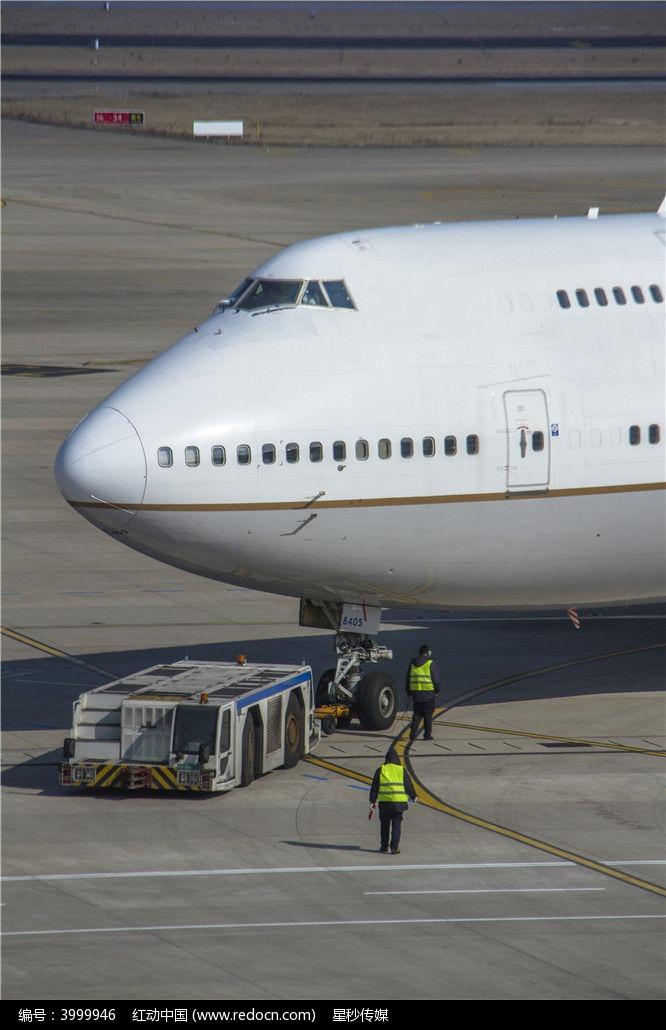 飞机的机头图片