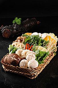 什锦蔬菜篮子