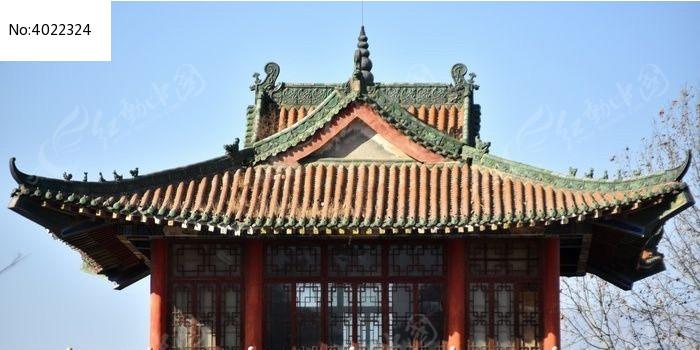 中式仿古建筑屋檐结构