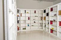环型书架展示柜