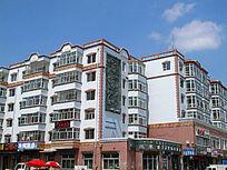 鄂温克民族风格住宅楼