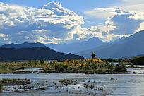 西藏风情户外风景
