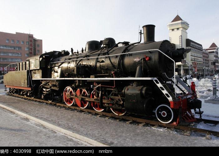 蒸汽机机车图片