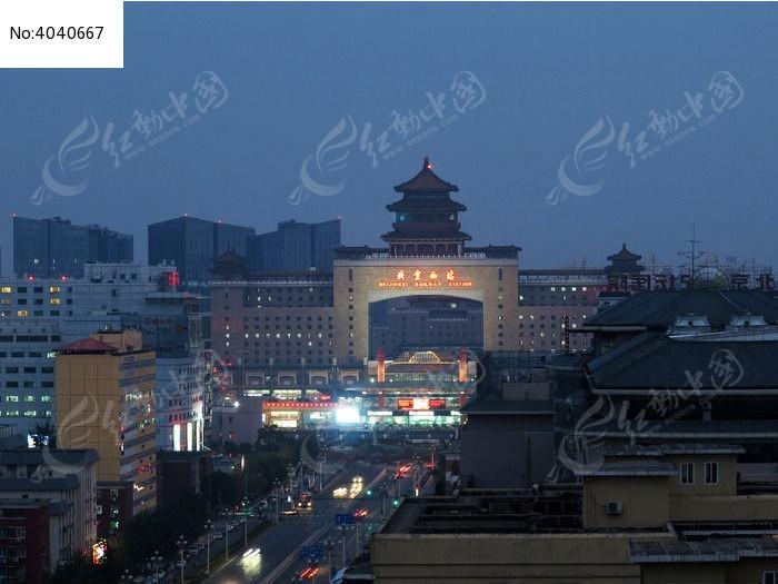 北京西站高清图片下载(编号4040667)_红动网