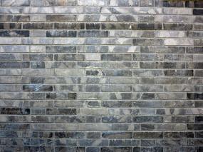 老北京青砖墙壁