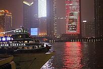 美丽的大上海夜景
