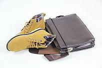 包包的漂亮的鞋子