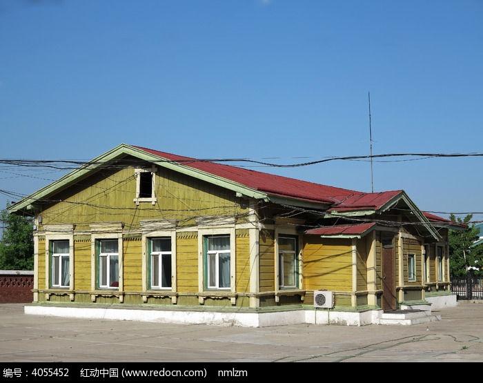 原创摄影图 建筑摄影 住宅区 俄式木屋图片