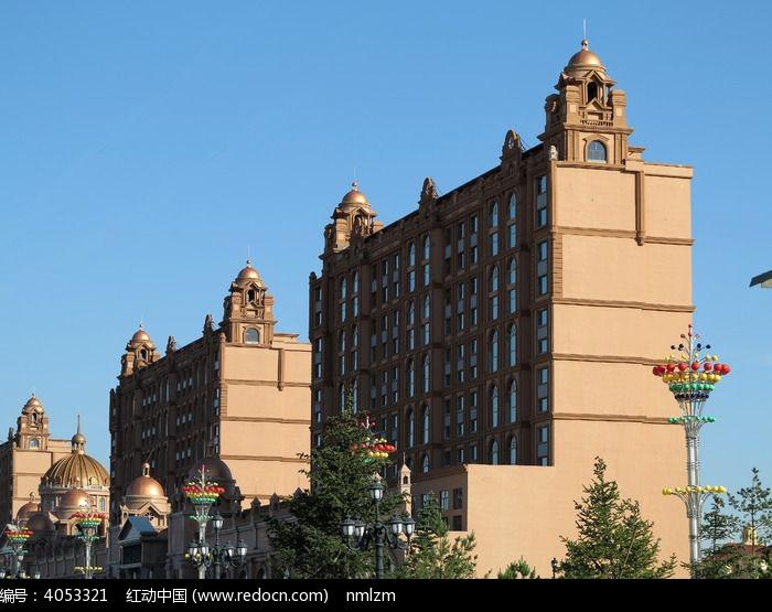 满洲里哥特式建筑高清图片下载_红动网图片