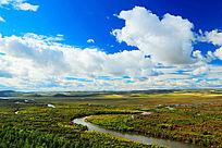 亚洲第一湿地根河之秋