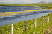 边境地区湿地风光