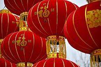 春节福字灯笼