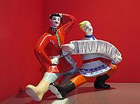 格热利陶瓷器 舞蹈