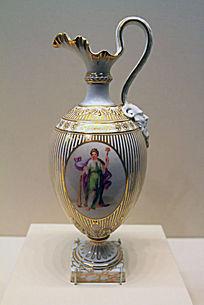 古典人物执壶