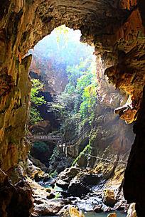 九乡风景区溶洞地质奇观