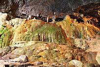九乡溶洞岩石