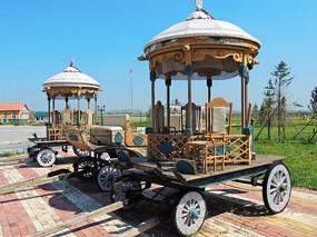 俄国老式马车
