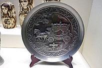 俄罗斯传统工艺品看盘
