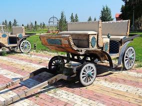 俄罗斯老式马车