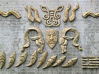 广场文化墙雕刻艺术