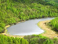 寒温带湿地湖泊风光