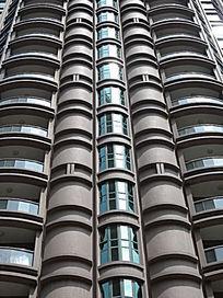 华山公寓外墙结构细节