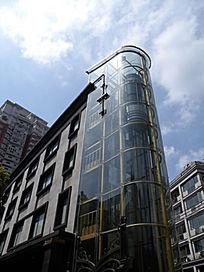 景观电梯玻璃幕墙